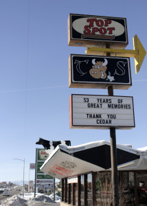 Top Spot owners thank the community for 53 years of memories, Top Spot, Cedar City, Utah, Dec. 17, 2015 | Photo by Carin Miller, St. George News