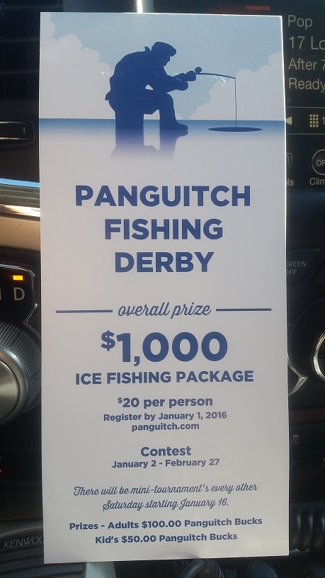 Deadline new year s eve for friendly competition at world for Panguitch lake fishing report