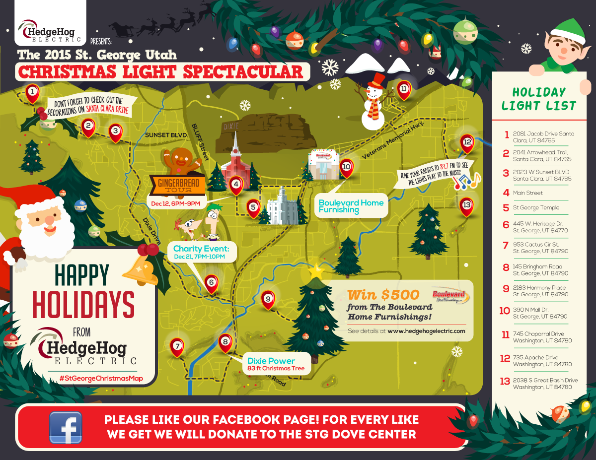 map of christmas lights victoria bc
