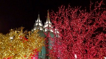 tour temple square christmas lights from home - Christmas Lights In Utah