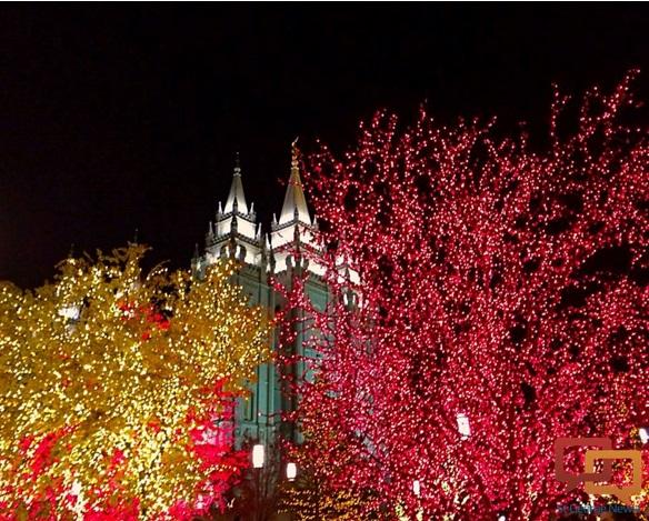 Christmas Lights Salt Lake City