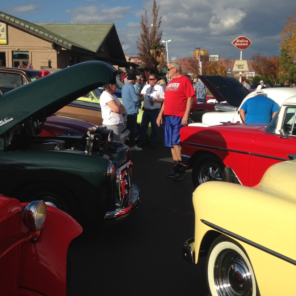 Car Guys Care Motor In For 'Toys For Tots' Gift Collection
