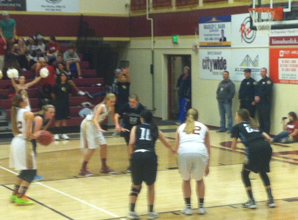 Canyon View at Cedar, girls basketball, Cedar City, Utah, Dec. 15, 2015   Photo by Jordan Abel, St. George News