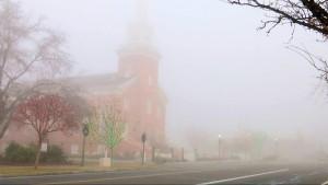 Heavy fog blankets Southern Utah, St. George, Utah, Dec. 23, 2015 | Photo by Sheldon Demke, St. George News