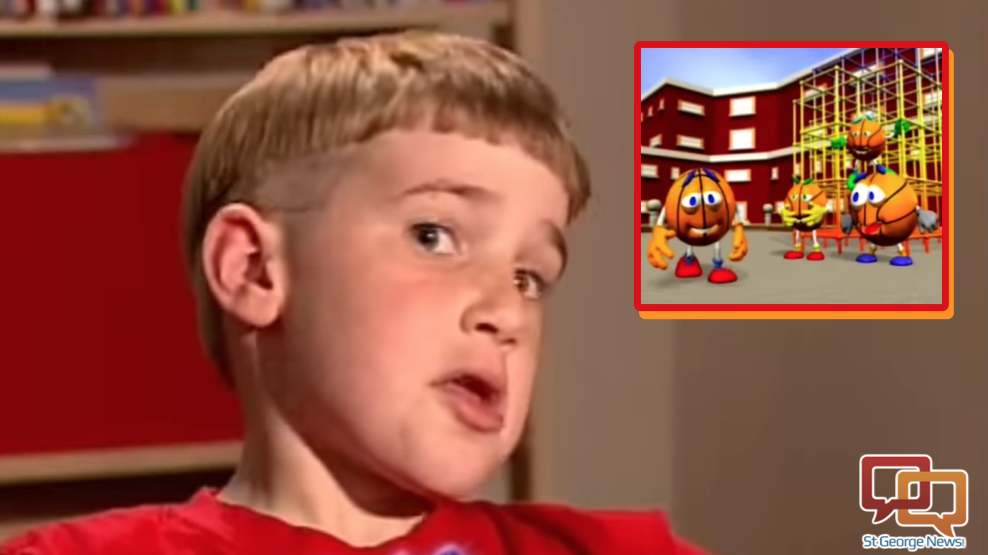 """Image composite from """"Stuttering: For Kids, By Kids"""" video produced by The Stuttering Foundation   Courtesy of The Stuttering Foundation, St. George News"""