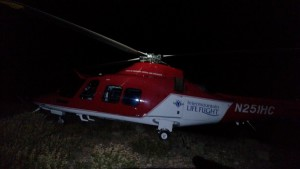 A Washington County Search and Rescue ground team was sent to Veyo to help locate an 82-year-old who left the site of a vehicle rollover. With the aid of Life Flight, they were able to get the man out of the boonies and to friends waiting in Veyo nearby. Despite being out in the cold, the man weathered the experience surprisingly well, Washington County Sheriff's Deputy Darrell Cashin said, Veyo, Utah, Dec. 18, 2015   Photo courtesy of Washington County Search and Rescue, St. George News