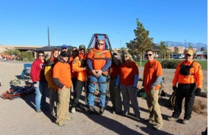 Red Rocks Search and Rescue St. George branch during its SAR 101 class, St. George, Utah, November 2015 | Photo courtesy of Red Rocks Search and Rescue, St. George News
