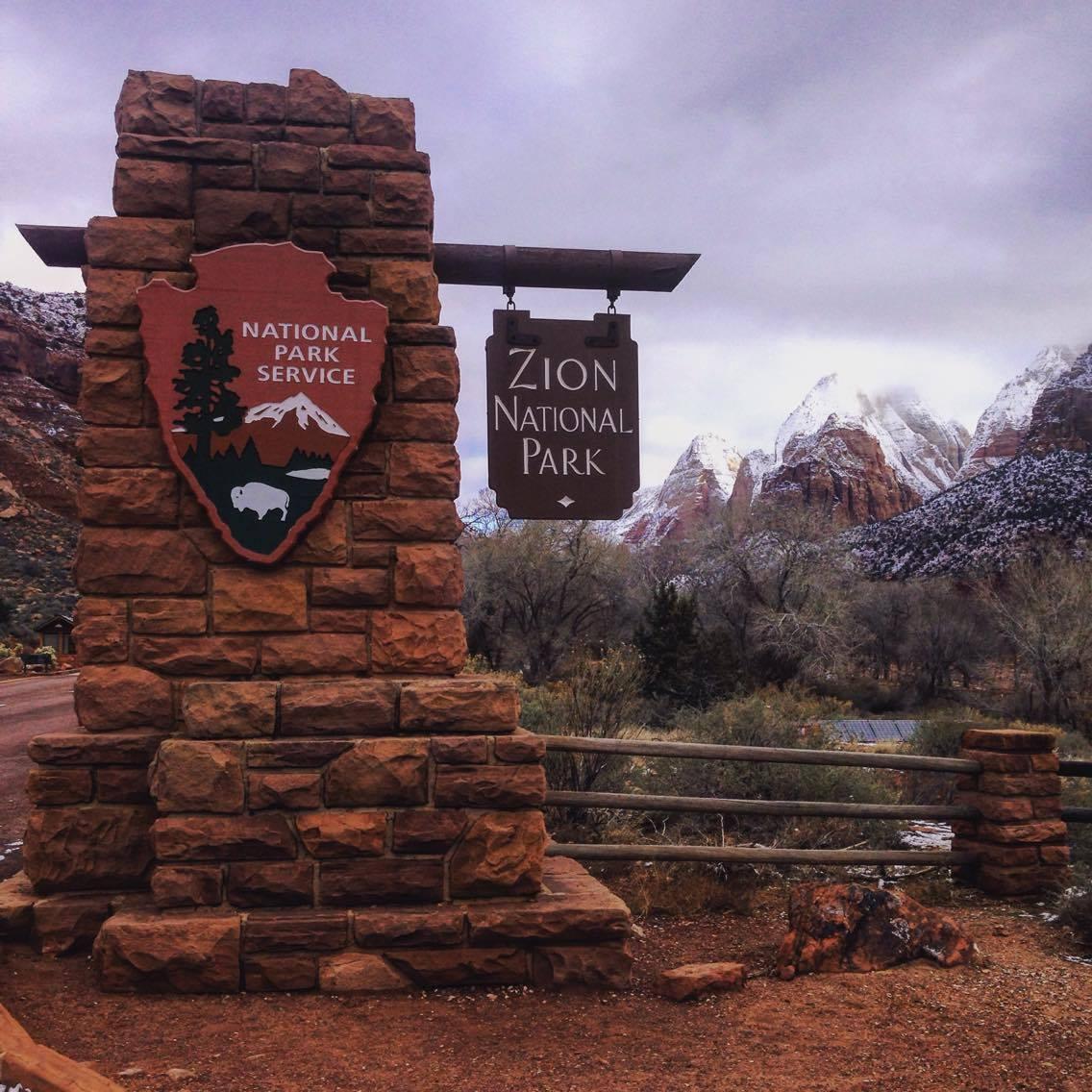 Zion National Park, Washington County, Utah, Jan. 7-8, 2016 | Photo courtesy of Melissa Gifford Lewis, St. George News
