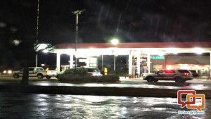 Police at the Phillips 66 gas station at S. 1150 West in Hurricane on Jan. 31, 2016 | Photo by Cody Blowers, St. George News