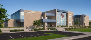 Artist rendering of what the new Cedar North Elementary school will look like, Cedar City, , Utah, Jan. 7, 2016 | Courtesy of Naylor Wentworth Lund Architect and the Iron County School District, St. George News