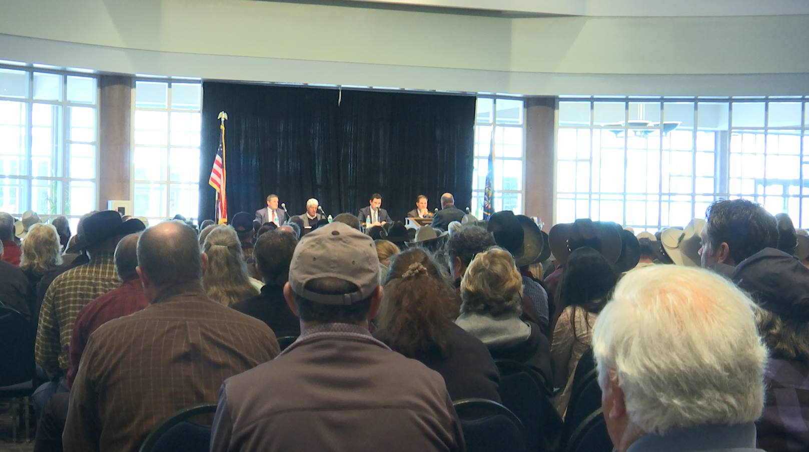 Congressional field hearing convened by the Utah congressional delegation because of complaints that the BLM is not working with local officials on the resource management plans.  St. George, Utah Jan. 22, 2015 | Photo by Austin Peck | St. George News