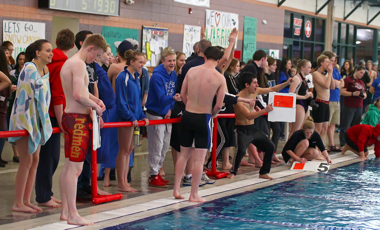 Region 9 Swimming Championships, St. George, Utah, Jan. 30, 2016, | Photo by Robert Hoppie, ASPpix.com, St. George News