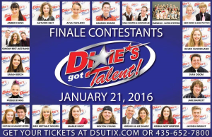 This photo features the 20 finalists who will vie for the top spot in the Dixie's Got Talent Finale Show, St. George, Utah, date not specified | Photo courtesy of Dixie's Got Talent, St. George News