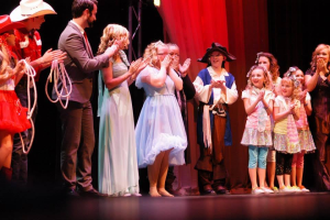 Finalists stand on stage in this 2015 photo of Dixie's Got Talent's finale, St. George, Utah, January, 2015 | Photo courtesy of Dixie's Got Talent, St. George News