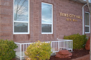 Ivins City Hall, Ivins, Utah, January 7, 2016 | Photo by Hollie Reina, St. George News
