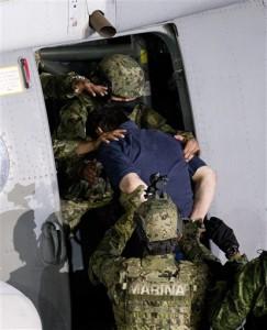 Drug lord Juaquin El Chapo Guzman captured