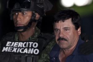Mexican drug lord Juaquin El Chapo Guzman is recaptured after escaping prison