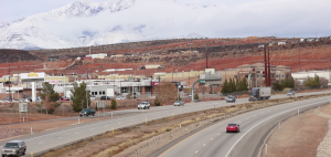 I-15 as seen from the St. George Boulevard/Exit 8 interchange, St. George, Utah, Jan. 9, 2016 | Photo by Mori Kessler, St. George News