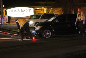 Emergency personnel tend to accident on South River Road and Foremaster Drive, St. George, Utah, Jan. 6, 2016  Photo by Cody Blowers, St. George News