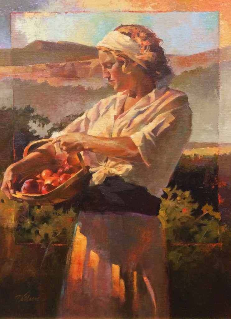 """The oil painting """"Pine Valley Mountain"""" by Del Parson is one of the more than 200 pieces of art on display in the annual Robert N. and Peggy Sears Dixie Invitational Art Show and Sale 