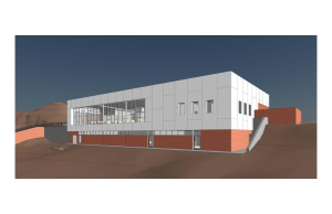 This rendering shows the new 19,000 square foot Tuacahn Arts Center, location and date not specified | Image courtesy of Tuacahn Center for the Arts, St. George News