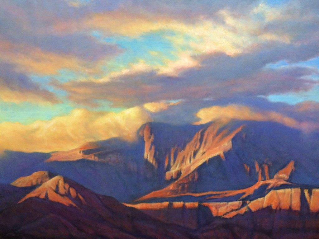 """The oil painting """"Strength"""" by Dilleen Marsh is one of the more than 200 pieces of art on display in the annual Robert N. and Peggy Sears Dixie Invitational Art Show and Sale 