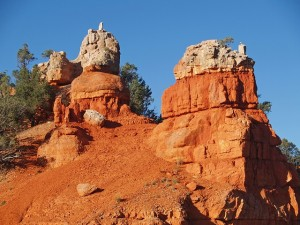Red rocks at Dixie National Forest