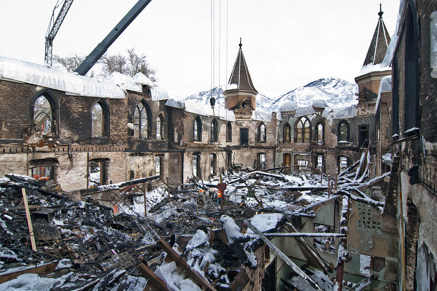 Fire Damage Restoration Salt Lake City Utah
