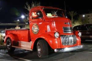 Custom 1946 Chevy COE owned by Richard Wood. Mesquite Motor Mania, CasaBlanca Resort & Casino, Mesquite, Nev., Jan 17, 2014   Photo by John Teas, St. George News