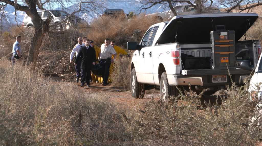 woman's body found