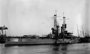The first USS Utah, a Florida class battleship built in 1911 | Image courtesy Wikipedia.com