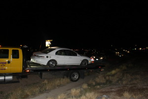 news short car wrecks following driver s attempt to avoid something in roadway st george news. Black Bedroom Furniture Sets. Home Design Ideas