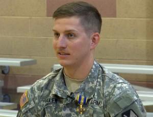 Sgt. Austin Miller, recipient of the Utah Cross, St. George, Utah, January 10, 2016   Photo by Austin Peck, St. George News