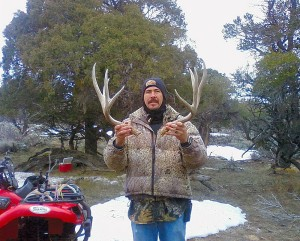 Gathering shed antlers is a fun thing to do in Utah in late winter. Before you gather shed antlers, make sure to complete the state's free online shed antler gathering course. April 16, 2008 | Photo courtesy of Randall Stilson, Utah Division of Wildlife Resources, St. George News