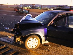 A St. George woman was transported to the hospital following a northbound Interstate 15 collision involving three vehicles near Washington City Exit 10, Washington, Utah, Jan. 14, 2016 | Photo courtesy of Utah Highway Patrol, St. George News