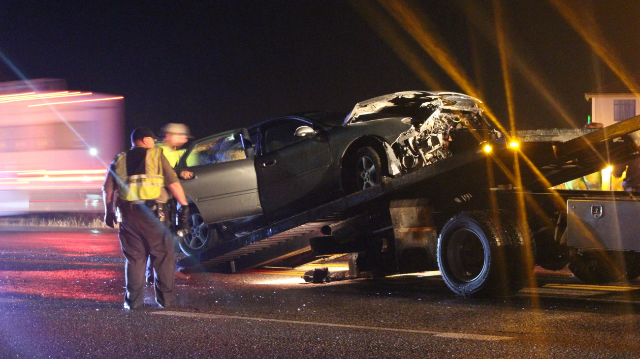 2 injured after U-turn attempt results in crash – St George News
