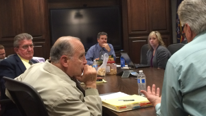 The St. George City Council meets in a work meeting to discuss fees related to the city's special events permitting process, along with other matters, St. George, Utah, Jan. 28, 2016   Photo by Mori Kessler, St. George News
