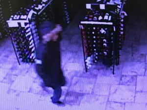 A surveillance camera photograph from the Utah State Liquor store break in, St. George, Utah, Jan 2, 2016 | Photo courtesy of St. George Police Department, St. George News