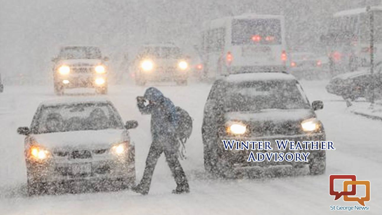 Winter storm watches and warnings issued for three counties st george news for Winter watches
