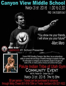 Marc Mero flier | Courtesy of Misty Cheek, St. George News
