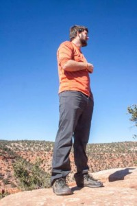 SUU Outdoor Education Series speaker Keith Howells looks out to the horizon, Location and date unspecified | Courtesy of Keith Howells, St. George News