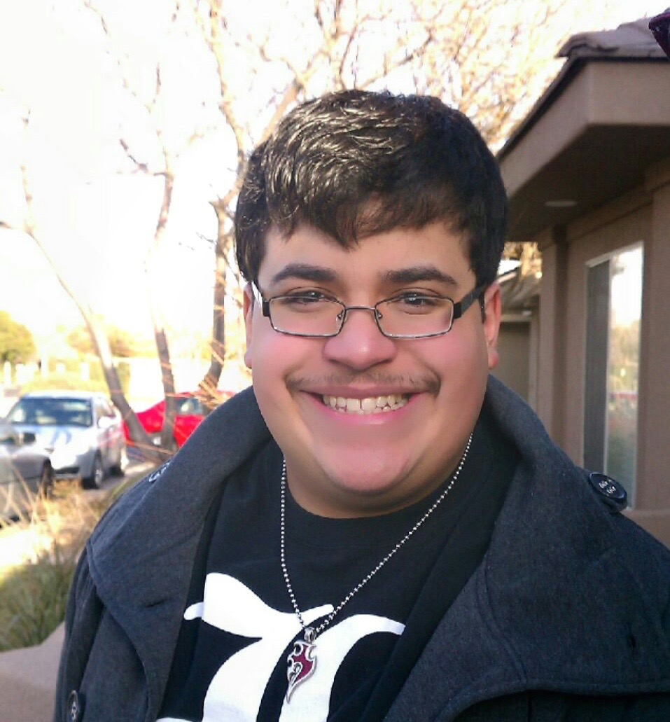 Dixie State University student Joseph Cartagena, location and date not specified   Photo courtesy of Dixie State University, St. George News