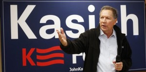 Republican presidential candidate, Ohio Gov. John Kasich speaks during a town hall campaign stop before next weeks earliest in the nation presidential primary, Rochester, N.H., Monday, Feb. 1, 2016 | AP Photo by Jim Cole, St. George News
