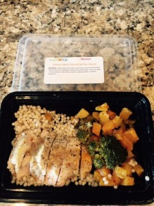 Lemon herb chicken with pan sauce prepared meal by Fit Food 2 You, location and date not specified | Photo courtesy of Fit Food 2 You, St. George News
