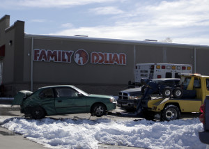 A woman went into labor after a Friday afternoon accident caused her water to break, 1045 N. Main St., Cedar City, Utah, Feb. 05, 2016 | Photo by Carin Miller, St. George News