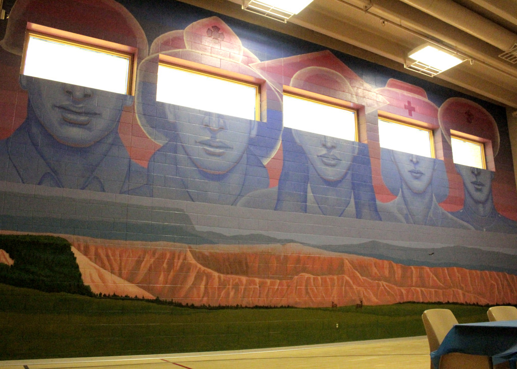 """Mural of Hope,"" Southwest Utah Youth Center, Cedar City, Utah, Feb. 16, 2016 