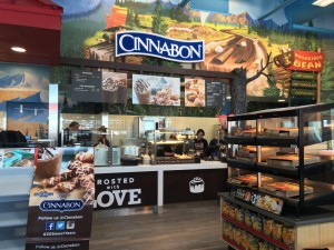 St. George's newest Maverick convenience store houses a Cinnabon bakery, St. George, Utah, February 16, 2016 | Photo by Hollie Reina, St. George News