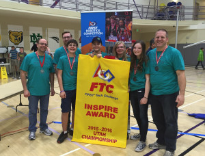 The Washington County 4-H Club team PrestidigiTaters took top honors at the Utah FIRST Tech Challenge, Ogden, Utah, Feb. 20, 2016 | Photo courtesy of Brian Allen, St. George News