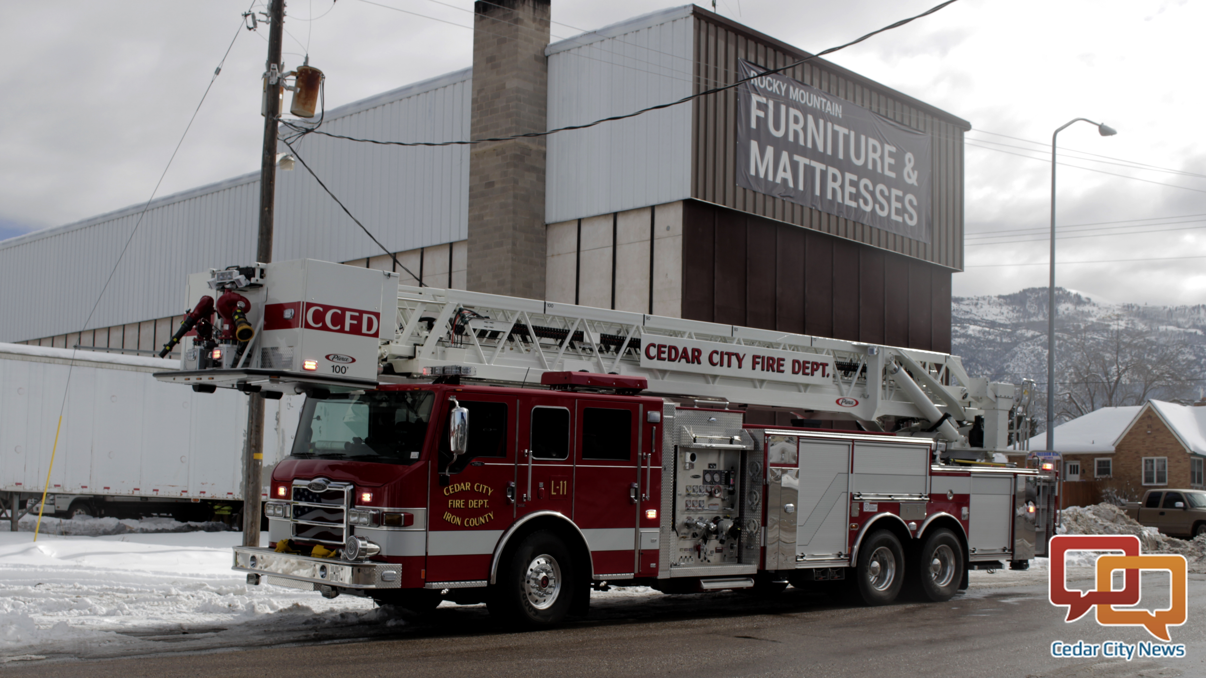 New Fire Procedures Help Save Cedar City Furniture Store