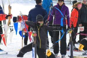 This photo from the Bryce Canyon Winter Festival shows the ski archery competition, Bryce Canyon, Utah, date not specified | Photo courtesy of Ruby's Inn, St. George News